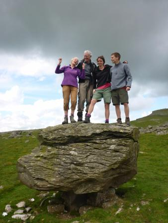 Austwick, UK: What a place to celebrate reaching 60!
