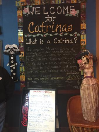 Catrinas Grill: Great place for fish tacos on Friday nights.