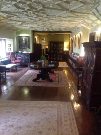 Lewdown, UK: the hall which was right outside our bedroom