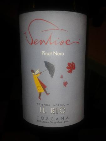 """Osteria del Sole: Pinot Nero """"Ventisei"""" Il Rio - Vicchio del Mugello"""
