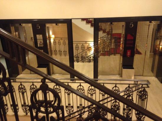 Grand Hotel Via Veneto: Elevator