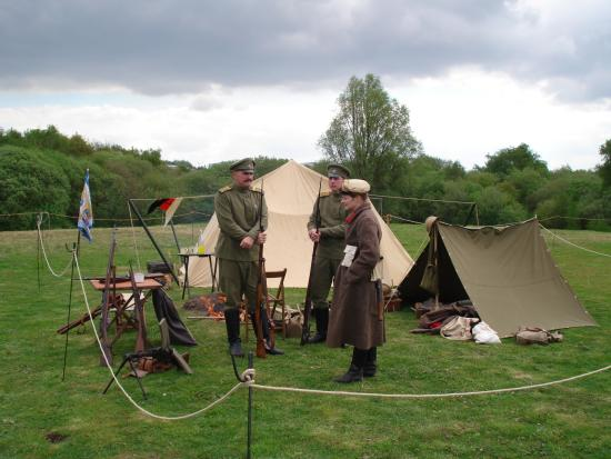Apedale Heritage Centre Russian soldiers WW1 & WW 1 Cavalrey - Picture of Apedale Heritage Centre Chesterton ...