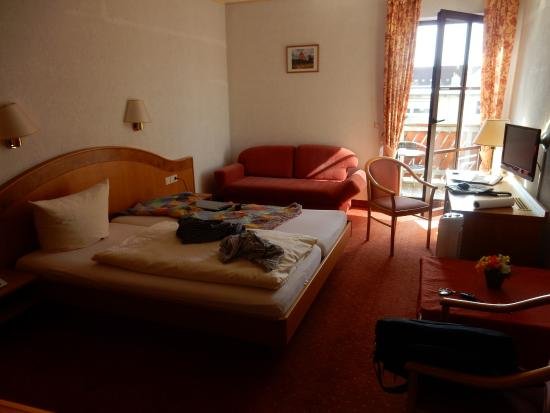 Weingut Sandwiese Winzerhotel: Ich bewohnte dieses Zimmer