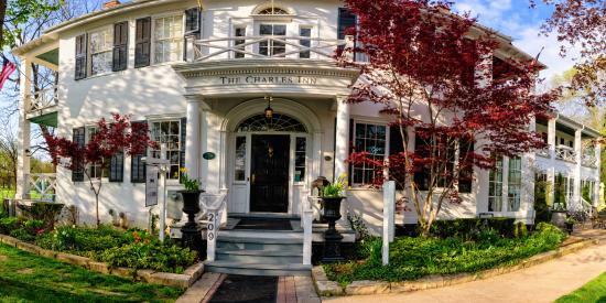 The Charles Hotel: Will only get more beautiful as spring advances!