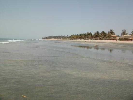 Kotu Beach: general view of the beach at the far end
