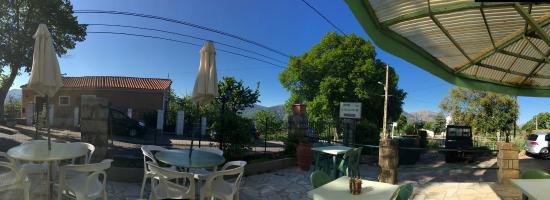 Evisa, Prancis: La terrasse