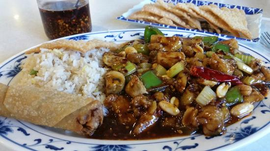 McKinney, Teksas: They serve the best Kung pao chicken in town!