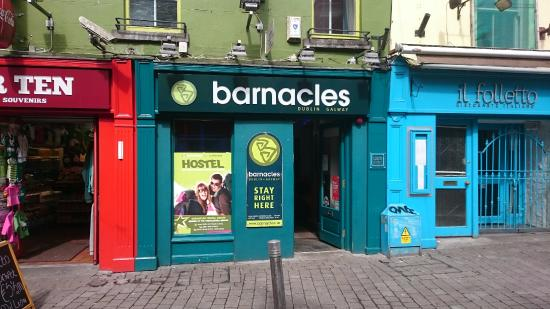 Image result for barnacles hostel galway