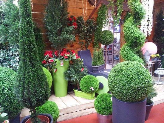 Montlouis-sur-Loire, França: plantes artificielles
