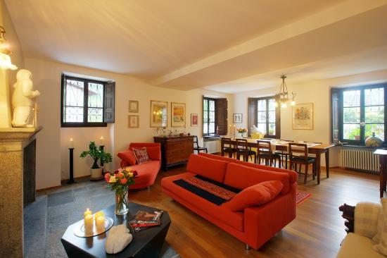 Casa Ambica: Frühstücksraum und Lounge