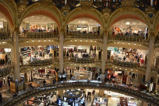 Photo0 Jpg Picture Of Galeries Lafayette Haussmann