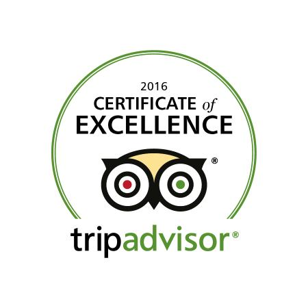 Swadlincote, UK: CERTIFICATE OF EXCELLENCE 2016