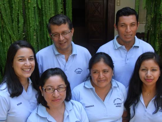 Posada La Merced Antigua: Staff