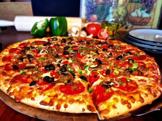 Tok, AK: Homemade Pizza