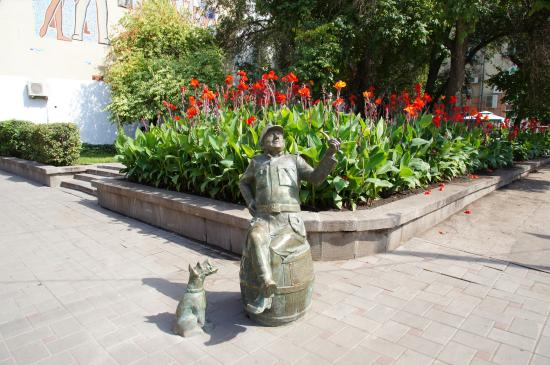 Monument to the Soldier Shveyk