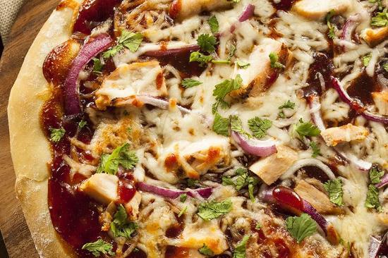 Katy, TX: Buffalo Chicken Pizza