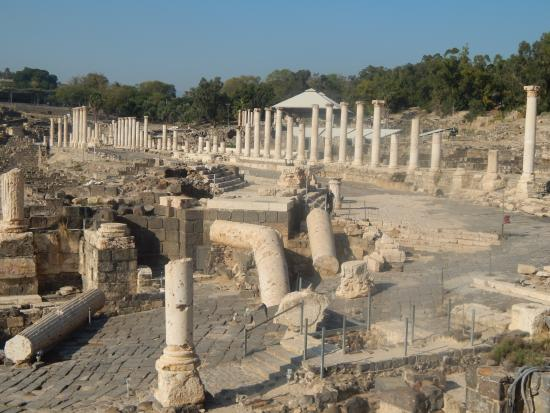 Beit She'an, Israel: altre rovine