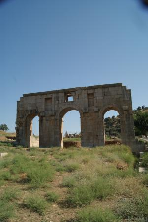The Hotel Patara Viewpoint: THE AQUADUCT, AND NOT AN ANCIENT MACDONALDS SIGN...