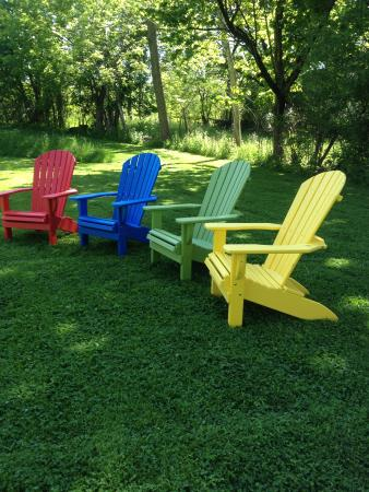 Finger Lakes Bed & Breakfast: Adirondack chairs await you