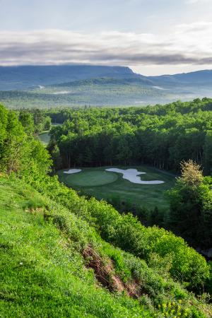 Kingfield, ME: The 11th holes in the summer
