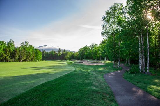 Kingfield, ME: The beautiful 13th hole