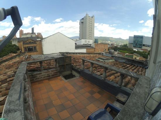 Tiger Hostal: Roof Top