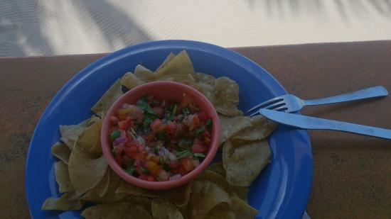 Placencia, Belize: shrimp ceviche