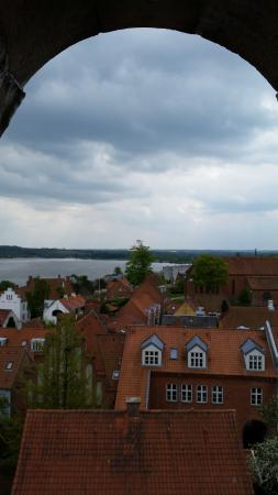 View of Viborg from the bell tower