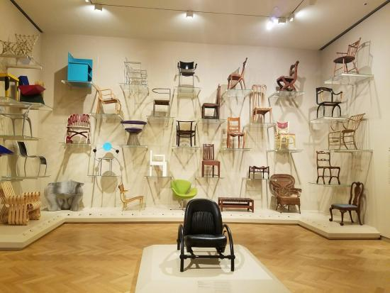 Display Of Chairs In Decorative Art And Design Picture Of Carnegie Classy Museum Of Decorative Arts And Design
