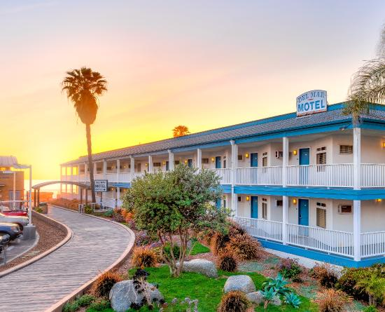 Del Mar Motel on the Beach: Del Mar Sunset