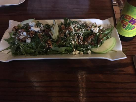 Ancora: Pork&Beans and Apple&Arugula Salad!  5*