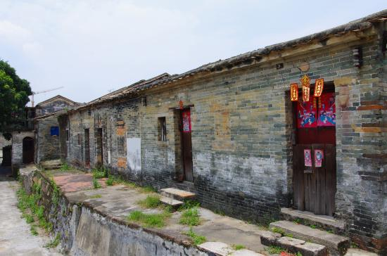 Gaoyao, China: a house