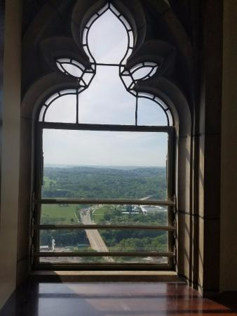 Cathedral of Learning: Window of 36th floor