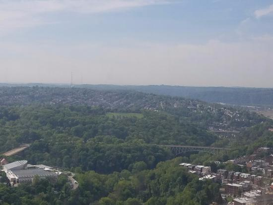 Cathedral of Learning: View from 36th floor
