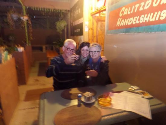 Calitzdorp, جنوب أفريقيا: The family visiting :-)