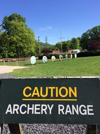 Hot Springs, VA: Archery Range