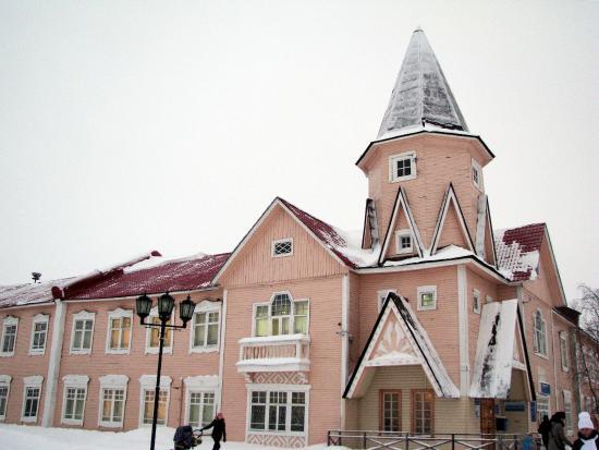 Post Office Building: Здание почты в декабре