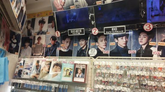 fb80ba6779 Star Shop, the most obvious (and expensive) K-pop attraction in Shin ...