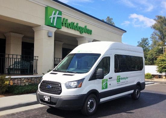 Holiday Inn-Asheville Biltmore West: Friday and Saturday Shuttle to Downtown