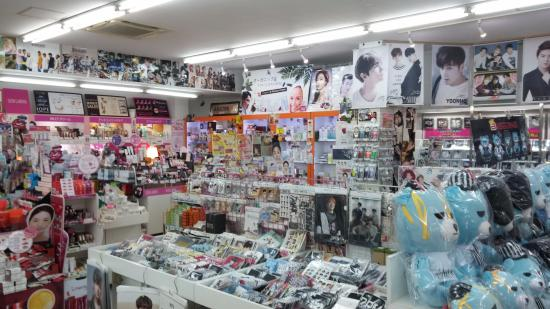 60651b68f5 Shin Okubo Korean Town: There is much more merchandise to choose from at Star  Shop