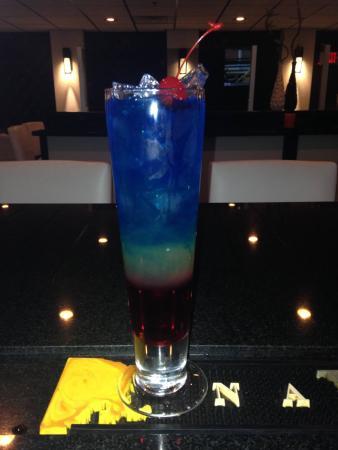Glen Mills, PA: Bomb Pop Cocktail