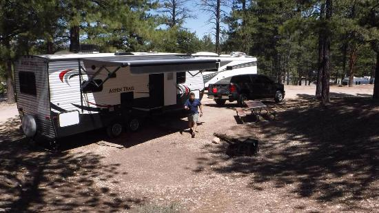 North Campground: campsite #37