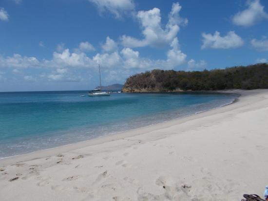 Carriacou Island, Grenada: Anse La Roche Beach