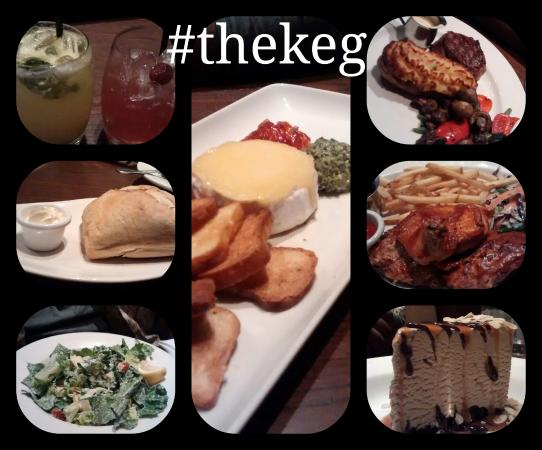 Barrie, Canada: Our night at the keg!