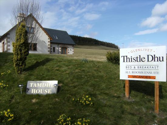 Glenlivet, UK: Thistle Dhu B&B