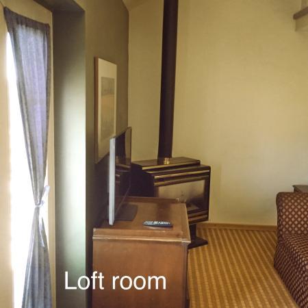 North Adventure Inn : Loft room