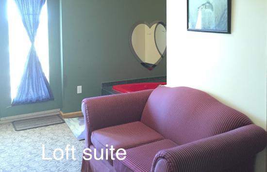 North Adventure Inn: Honeymoon suite