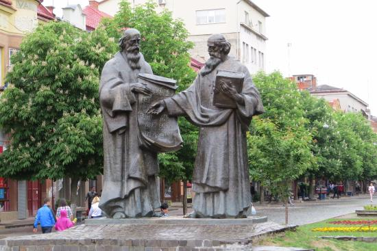 ‪St. Cyril and Methodius Monument‬