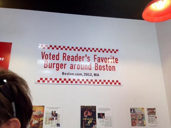 Wareham, ماساتشوستس: favorite burger around Boston