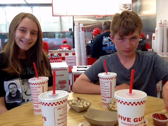 Wareham, ماساتشوستس: The kids love it 